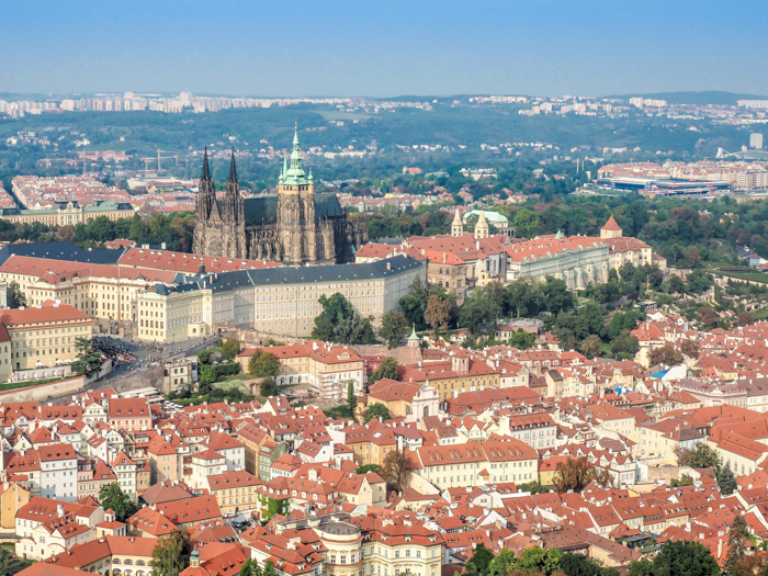 Czeching Out the Best of Prague in 3 Days | Czech Republic | Petrin Tower, Petrin Hill, Best views in Prague, View of Prague Castle