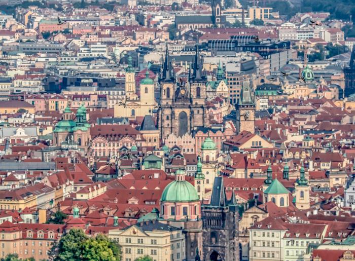 Czeching Out the Best of Prague in 3 Days   Czech Republic   Petrin Tower, Petrin Hill, Best views in Prague, View of city center