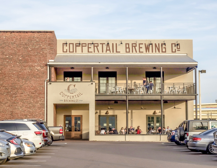 Spend a day in Ybor City | Tampa, Florida | Coppertail brewing company |