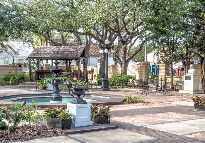 Spend a day in Ybor City | Tampa, Florida | Ybor City State Museum | Ybor City Museum State Park | History of Ybor City | Mediterranean Garden