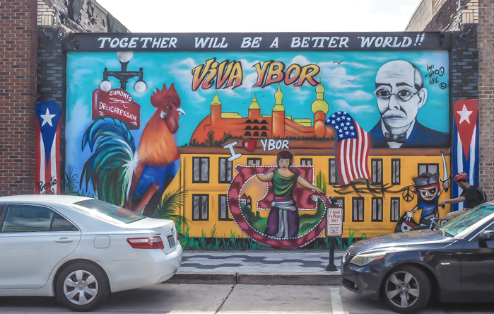 Spend a day in Ybor City | Tampa, Florida | Casita | historic neighborhood, mural, street art