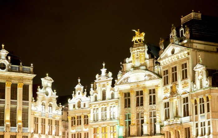 4 Days in Belgium | What to see in Brussels | Grand-Place | architecture