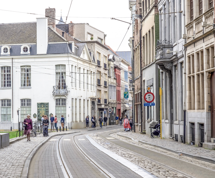 4 days in Belgium | Where to stay in Ghent | Gent | street