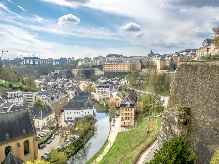 Day Trip to Luxembourg | Should you take one or not? | What to see in Luxembourg | What to do in Luxembourg | Day trip to Luxembourg from Brussels, Belgium | Luxembourg City | Viator | overhead view