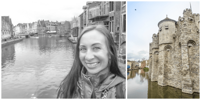 4 days in Belgium | Where to stay in Ghent | Gent | Gravensteen Castle, selfie
