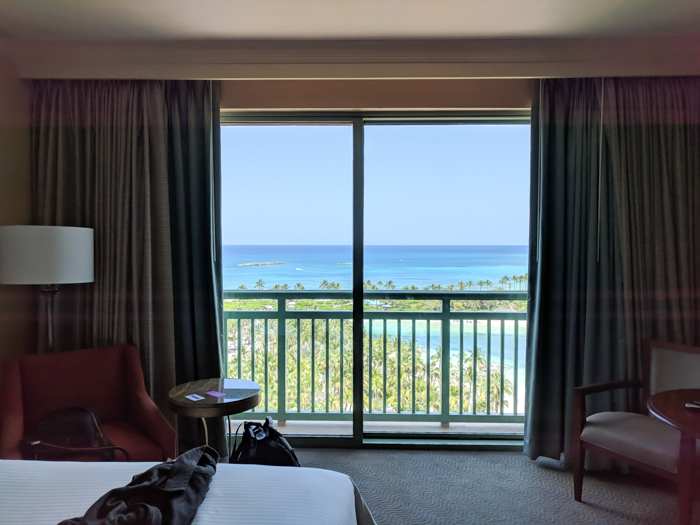 Do This, Not That // 2 Days in The Bahamas   Atlantis Royal Towers Resort room view   Where to stay in The Bahamas #fountain #bahamas #atlantis #honeymoon #caribbean #island #thebahamas