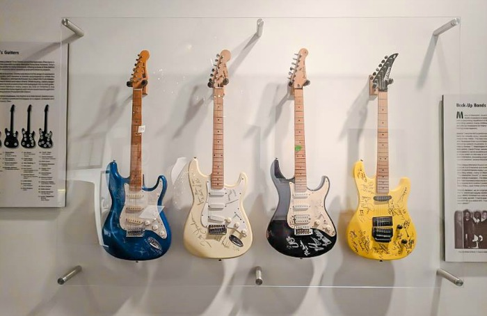 200 things to do in memphis, tennessee for first-time visitors   The Rock 'n' Soul Museum, a local's guide #traveltips #rockandroll #memphis #guitars