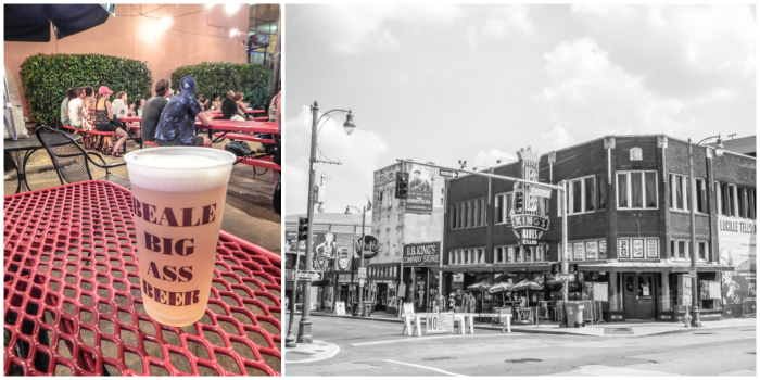200 things to do in memphis, tennessee for first-time visitors, a local's guide | Beale Street #memphis #traveltips #bealestreet Big ass beer
