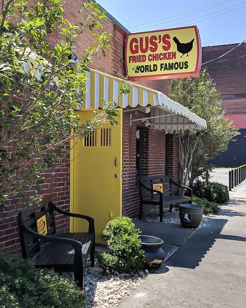 200 things to do in memphis, tennessee for first-time visitors, a local's guide | World Famous fried chicken from Gus's downtown #traveltips #memphis #friedchicken