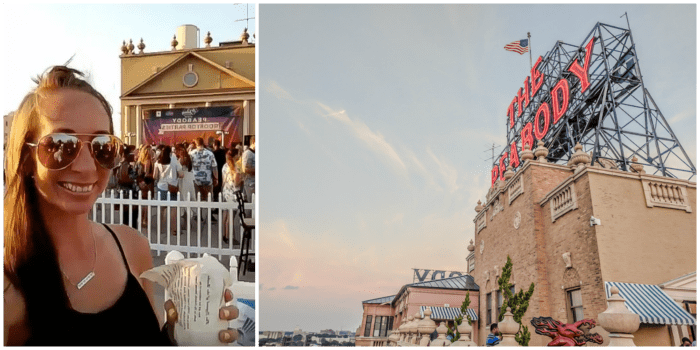 200 things to do in Memphis, Tennessee for first-time visitors - a local's guide   Peabody Hotel Rooftop Party, #memphis #peabody #rooftop #traveltips