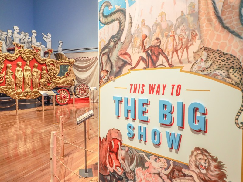 How creepy is the creepy Ringling Brothers Circus Museum in Sarasota, Florida? Very.