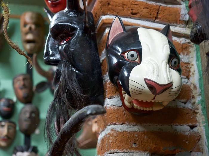2 days in San Miguel de Allende travel tips | Mask Museum, Another Face of Mexico, Casa de la Cuesta | cat mask #sanmigueldeallende #mexico #traveltips #timebudgettravel #sanmiguel #maskmuseum