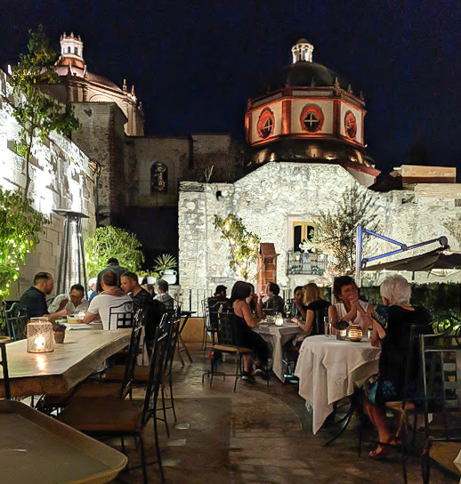 2 days in San Miguel de Allende travel tips | aerial views of the city | Rooftop patio at La Posadita #sanmigueldeallende #mexico #traveltips #timebudgettravel #sanmiguel