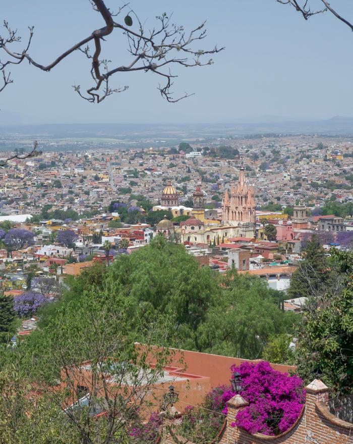 2 days in San Miguel de Allende travel tips | mirador, aerial views of the city | #sanmigueldeallende #mexico #traveltips #timebudgettravel #sanmiguel