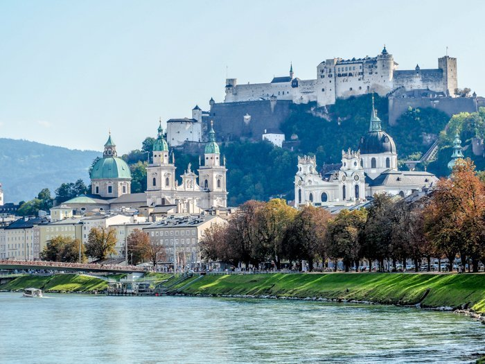 How to Squeeze in a Day Trip to Salzburg from Munich | Austria to Germany | Sound of music, mozart, castle, brewery, museums #salzburg #austria #thesoundofmusic #beer #mozart #daytrip #castle | Salzburg Castle