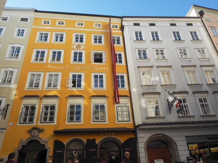 How to Squeeze in a Day Trip to Salzburg from Munich | Austria to Germany | Sound of music, mozart, castle, brewery, museums #salzburg #austria #thesoundofmusic #beer #mozart #daytrip #castle | Mozart's birthplace