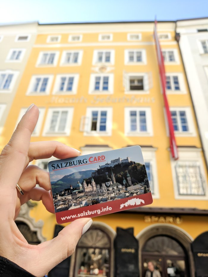How to Squeeze in a Day Trip to Salzburg from Munich | Austria to Germany | Sound of music, mozart, castle, brewery, museums #salzburg #austria #thesoundofmusic #beer #mozart #daytrip #castle | Salzburg Card and tourist information center map