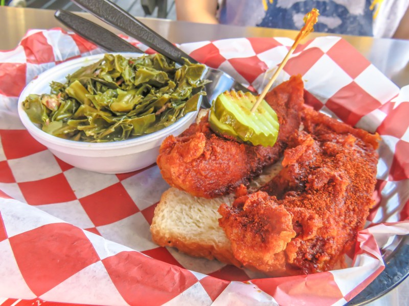 """How hot is mild?"" An exploration of Nashville Hot Chicken 