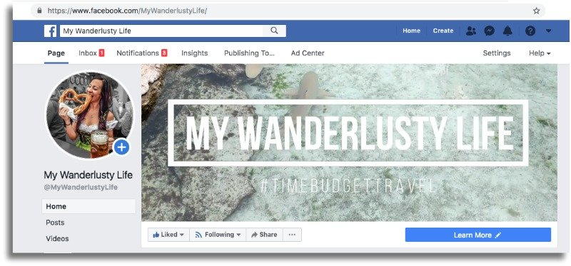 The Wanderlusty Guide to How to Start a Blog | Starting a WordPress blog from scratch with SiteGround | Facebook and social media | Blogging Tips | Where to start | How to start a travel blog | How to become a blogger #bloggingtips #blogging #travelblogger #travelblog #digitalnomad #wordpress