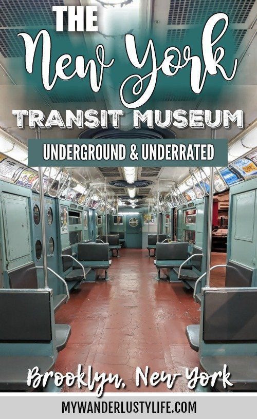 Brooklyn's New York Transit Museum // Underground and Underrated   The best New York City museum you've never heard of   New York City hidden gem   #NewYorkCity #museum #transitmuseum #brooklyn #nycmuseum #traveltip #timebudgettravel