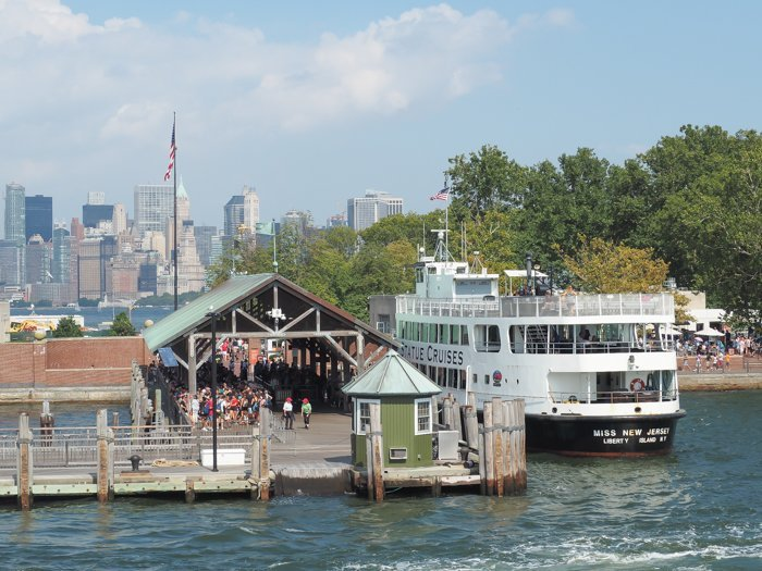A Time-Budget Traveler's Guide to Visiting Ellis Island in a Hurry   New York City, Manhattan and the Statue of Liberty   United States Immigration Museum   National Park Site #ellisisland #newyorkcity #stateofliberty #nyc #manhattan #ushistory ferry
