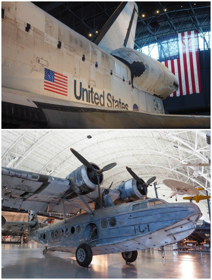Smithsonian National Air & Space Museum, Udvar-Hazy Center | Space Shuttle Discovery | A Jam-Packed 3 Days in Washington DC Itinerary for First Time Visitors | #washingtondc #timebudgettravel #USA