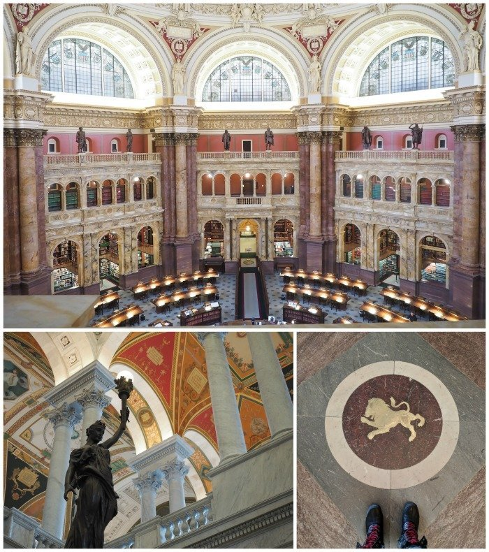 Library of Congress | A Jam-Packed 3 Days in Washington DC Itinerary for First Time Visitors | #washingtondc #timebudgettravel #USA