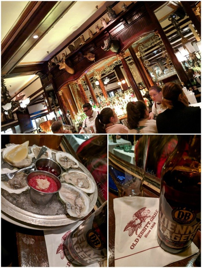 Happy hour oysters at Old Ebbitt Grill | A Jam-Packed 3 Days in Washington DC Itinerary for First Time Visitors | #washingtondc #timebudgettravel #USA