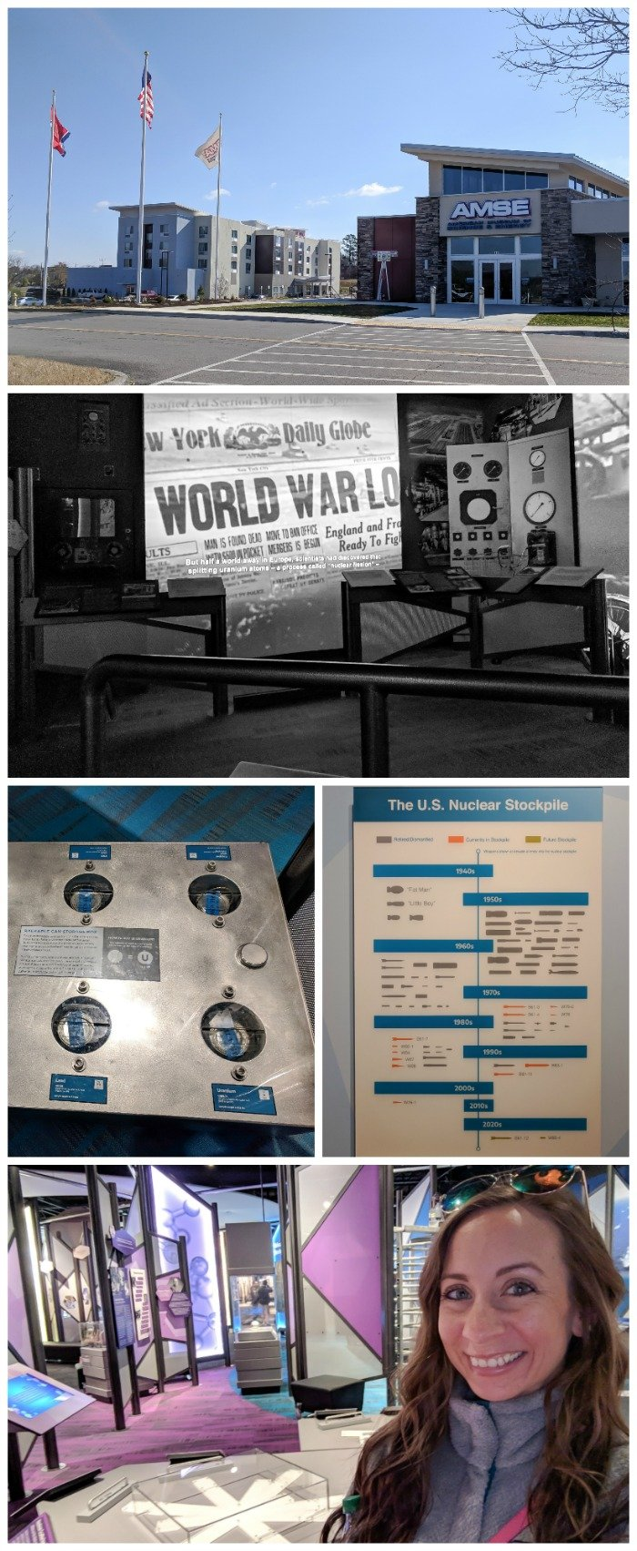 American Museum of Science and Energy | 7 Ways to Spend a Day in Oak Ridge, Tennessee | Manhattan Project | Atomic bomb | World War II | Department of Energy | Y-12, X-10 graphite reactor | #Oakridge #WWII #manhattanproject #tennessee