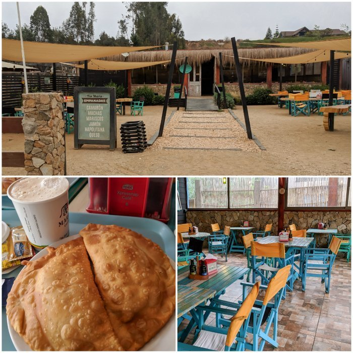 How to Spend One Week in Chile and Cover All the Bases   Empanadas and coffee at the roadside stop Tio Mario #chile #valparaiso #whattodoinchile #weekinchile #empanads #cachagua