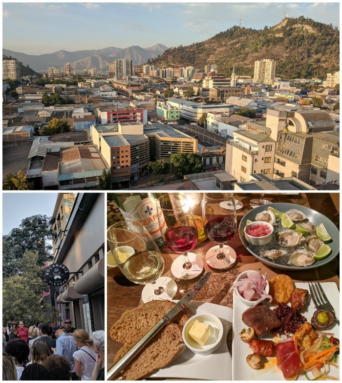 How to Spend One Week in Chile and Cover All the Bases | Dinner and wine tasting at Bocanariz in Santiago #chile #whattodoinchile #weekinchile #winetasting #bocanariz