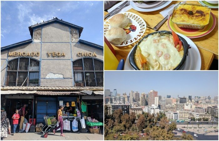 How to Spend One Week in Chile and Cover All the Bases | Santiago and having lunch at Mercado Vega Chica | Pastel de Choclo | #santiago #chile #mercado #market