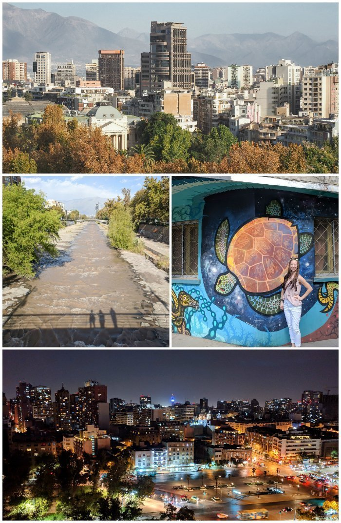 How to Spend One Week in Chile and Cover All the Bases | Santiago and amazing city views | street art in Chile | #santiago #chile #views #streetart
