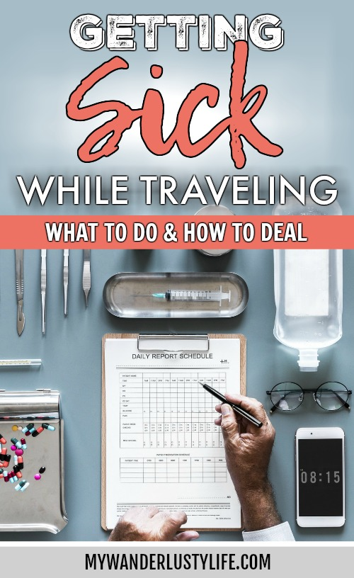 Getting Sick While Traveling Abroad // What to Do and How to Deal | Travel insurance, prepare for getting sick abroad, when to see a doctor, emergency room experience, medicine and medical care abroad, and more. #sickabroad #traveltips #travelguide #healthytravel #healthtips #travelinsurance