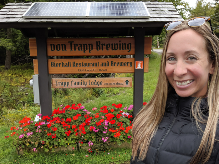 Von Trapp brewery and bierhall in Stowe, VT | 11 Ways to Fill Your Days During a Weekend in Vermont | #vermont #burlington #newengland #vontrapp #craftbeer