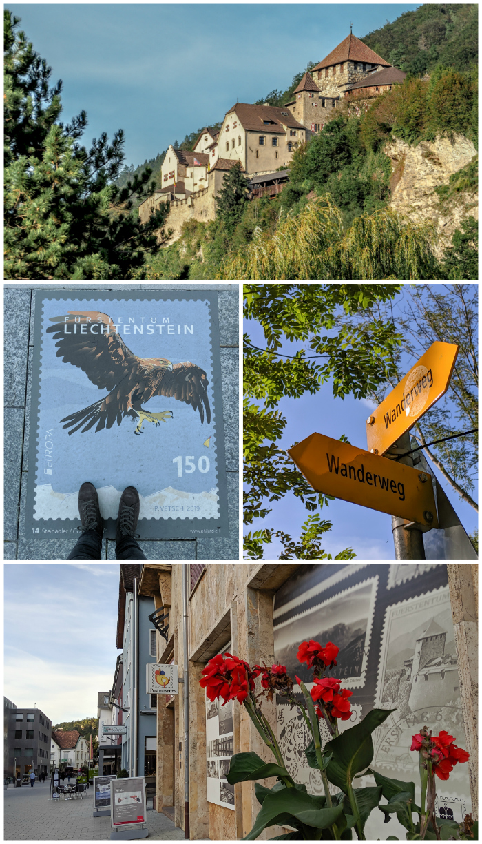 Spending 2 days in Liechtenstein, Vaduz castle, postal museum, hiking trails, treasure chamber