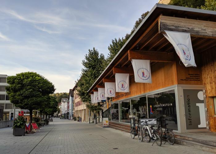 Get your passport stamped at the Liechtenstein tourist office in Vaduz