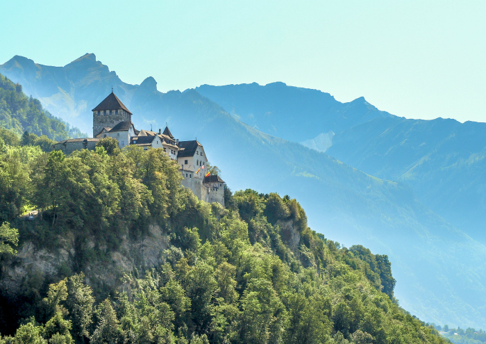 Spending 48 hours in Liechtenstein, Vaduz castle