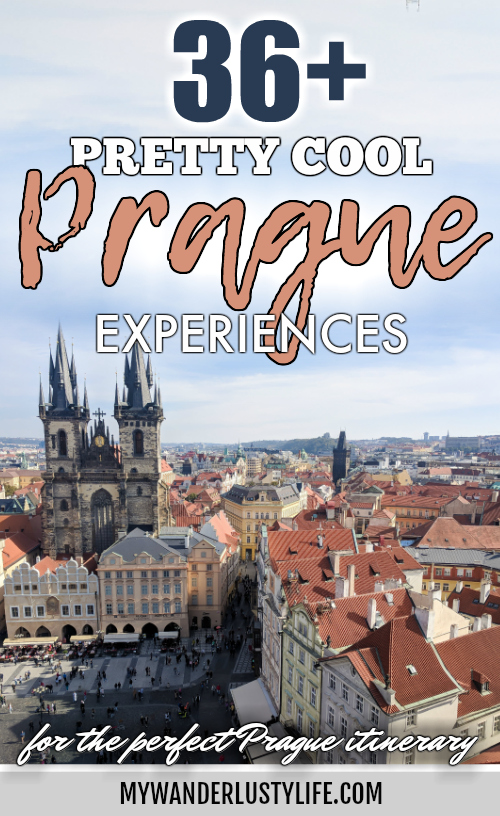 Red rooftops and towers, views from the Old Town Hall Tower | Cool Prague Experiences | Czech Republic / Czechia | What to do in Prague, best prague things to see and do, where to stay in Prague, optional Prague tours, and so much more! #prague #czechrepublic #czechia #traveltips #timebudgettravel