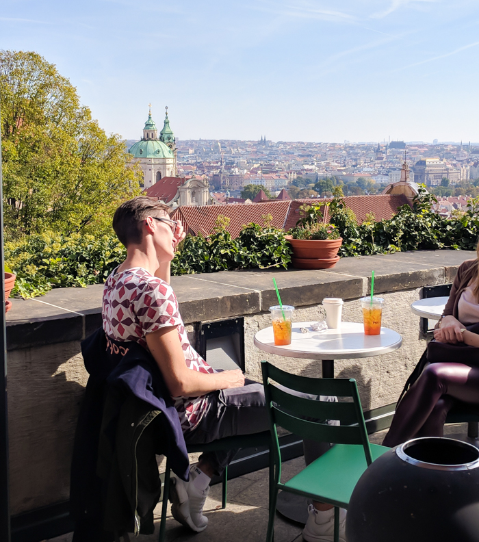 Starbucks at Prague Castle | Cool Prague Experiences | Czech Republic / Czechia | Where to eat and drink in Prague, Prague travel tips