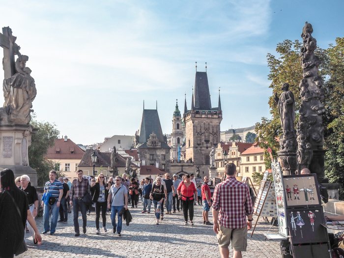 Walk across the Charles Bridge | Cool Prague Experiences | Czech Republic / Czechia | What to do in Prague, best prague things to see and do