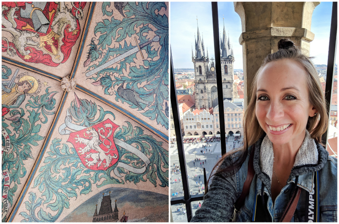 Red rooftops and towers, views from the Old Town Hall Tower | Cool Prague Experiences | Czech Republic / Czechia | What to do in Prague, best prague things to see and do