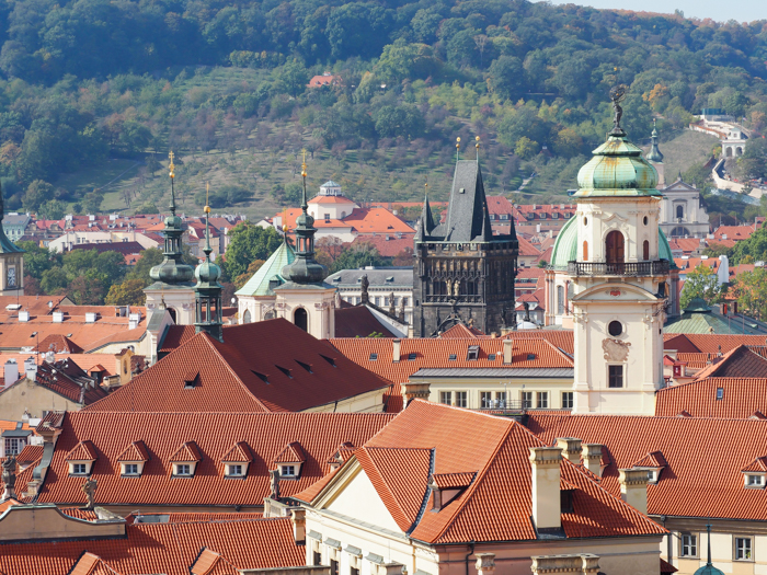 Red rooftops and towers | Cool Prague Experiences | Czech Republic / Czechia | What to do in Prague, best prague things to see and do
