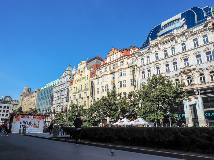 St Wenceslas fall market in Wenceslas Square | Cool Prague Experiences | Czech Republic / Czechia | What to do in Prague, best prague things to see and do