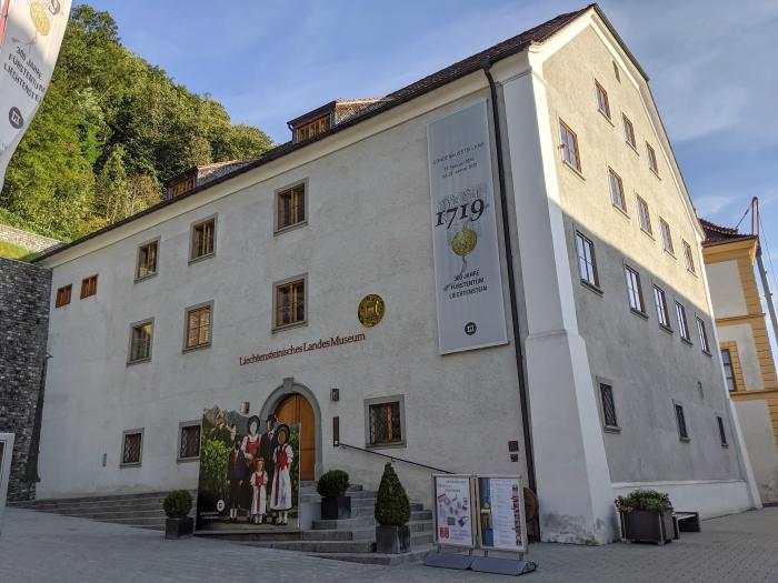 Liechtenstein National Museum in Vaduz (Liechtensteinisches Landesmuseum)