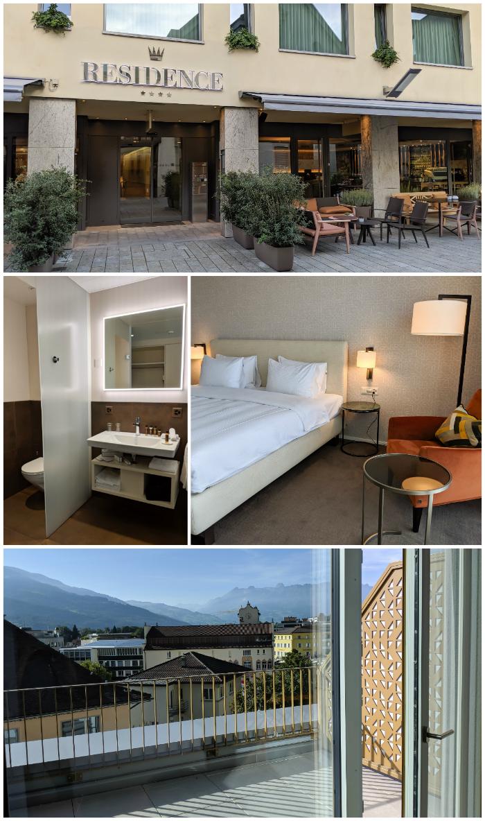 Where to stay in Liechtenstein | The Residence Hotel in Vaduz, Liechtenstein