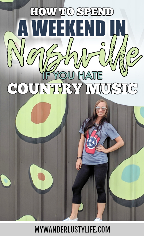 How to Spend a Weekend in Nashville If You Hate Country Music | Nashville, Tennessee, sights, eats, drinks, outdoor activities, etc. #nashville #tennessee #streetart #traveltips