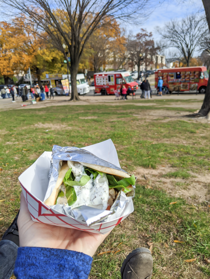 Food trucks for lunch, National Mall   Another long weekend in Washington, D.C.