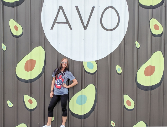 How to Spend a Weekend in Nashville If You Hate Country Music | Nashville, Tennessee | Nashville Avocado mural
