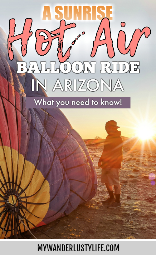 What You Need to Know for Your Sunrise Hot Air Balloon Ride in Arizona | Scottsdale and Phoenix, Arizona hot air balloon rides with Hot Air Expeditions #hotairballoon #balloonride #hotairexpeditions #arizona #scottsdale #phoenix #bucketlist